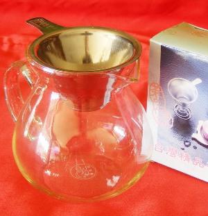 Glaskanne für die Teezubereitung / Teezeremonie, 300 ml