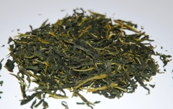 Maulbeerblätter-Tee / Kräutertee / Infusion aus Thailand: Close-up